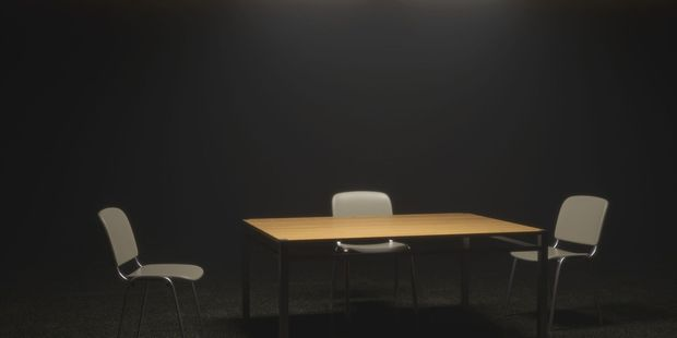 A 14-year-old girl was kept in a locked interview room for several hours at a Wellington police station. Photo / Supplied