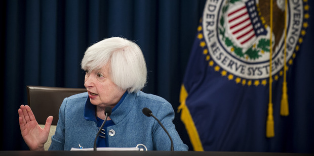 Federal Reserve Chair Janet Yellen said she can't say when the next interest rate will occur or how high rates will rise. Photo / AP