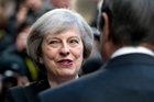 The Prime Minister will make regaining control of Britain's borders one of the central themes of her Brexit strategy. Photo / AP