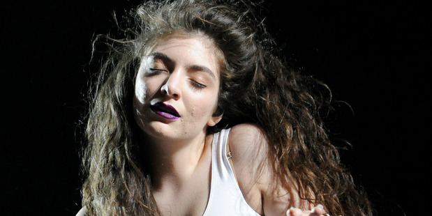 Lorde performs at the 2014 Coachella Music and Arts Festival on Saturday, April 12, 2014. Photo / AP
