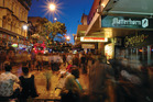 Wellington's Cuba Street gets a special mention as an attraction for those who love food. Photo / File