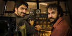 Christian Rivers, director of Mortal Engines, and Peter Jackson, who will write the project. Photo/Supplied