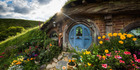 Our national parks are all booked up for decades with the single exception of Hobbiton, thanks largely to Sir Peter Jackson. Photo / Supplied
