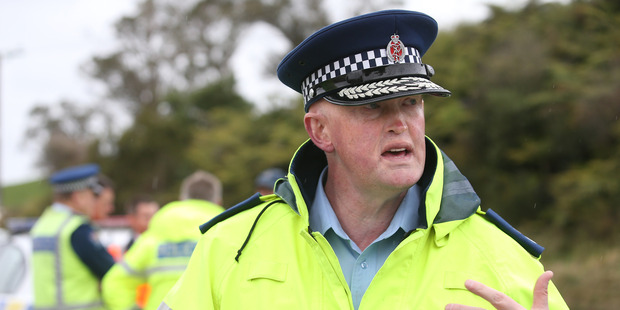 Superintendent Steve Greally revealed a concerning trend in the Auckland area which involved thrill-seekers trying to flee from police and filming the mayhem that followed. Photo / John Borren