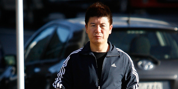 William Yan pictured shortly after his arrest in 2009 on immigration charges. He was later acquitted. Photo / Greg Bowker.