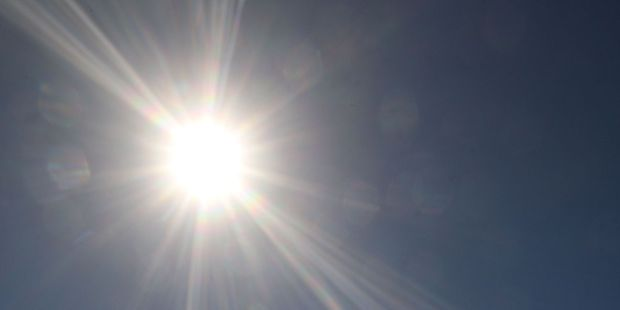 Official readings taken at Whangarei Airport showed a very warm 31C.