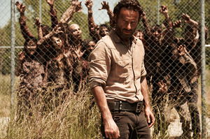 Why are the Walking Dead cast getting paid so little when they're having so much success? Photo / AMC