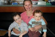 Danica Weeks is raising her two boys alone after her husband Paul disappeared on flight MH370. Photo / Facebook