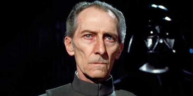 Peter Cushing as Grand Moff Tarkin in the original Star Wars trilogy. Photo/Supplied