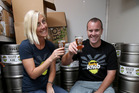 Bron and Stu Marshall who own Rocky Knob Brewing Company are experimenting with an avocado beer. Photo / File