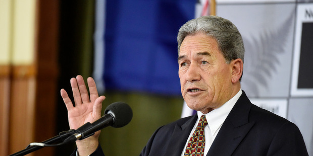 NZ First leader Winston Peters says his party believes a report that says there is no technical mining reason re-entry into the Pike River Mine could not be achieved safely. Photo /  George Novak