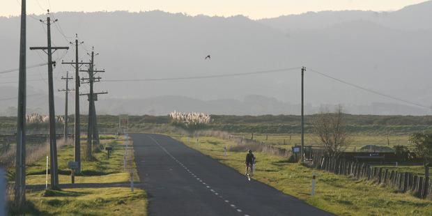 State Highway 2 between Miranda and Waitakaruru; who knows what we will find on New Zealand's quiet highways? Photo / Glenn Jeffrey