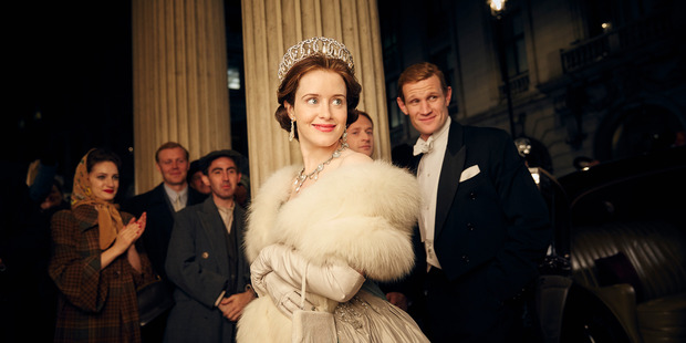 A shot from the popular Netflix show The Crown. Picture / supplied.