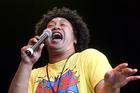 Raggamuffin Reggae Festival, Kora lead singer Laughton Kora. Photo / Andrew Warner.