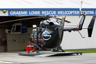 The injured boys were flown to Hawke's Bay Hospital by the Lower Corporation Rescue Helicopter. Photo / File