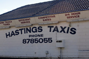 SHAKEN: Hastings taxi driver was assaulted and ambushed by a group of seven on Sunday afternoon. PHOTO/FILE.