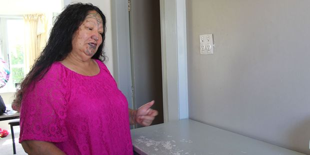 New Cole St resident Horiana Rophia arrived home last Monday to find thieves had been through her rental home of three weeks.