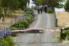 Inquiry: Police are continuing their investigation of the scene where two bodies were found inside a home in Waipukurau yesterday morning. Photo/Warren Buckland.