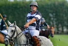 WINNING START: Wanstead A captain Simon McDonald led his team to victory on day one of the national polo tournament in Hastings. PHOTO/WARREN BUCKLAND.