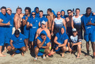 The extended Northland Sevens squad enjoyed a beach training at Mount Maunganui before heading to the 2017 Bayleys National Sevens Championship in Rotorua.