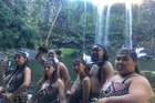 A Maori culture show will be performed at the Whangarei Falls tonight as part of a pilot tourism project.