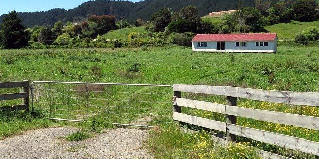 The block of land HUHA purchased in Manakau.