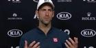 Watch: Watch: Novak Djokovic all class after shock defeat