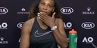 Watch: Watch: Serena Williams tells reporter to apologise
