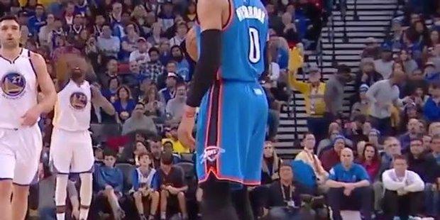 Watch Westbrook goes walkies