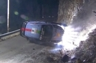 Kiwi rally driver Hayden Paddon has been involved in an accident on the opening stage of the Monte Carlo rally. Source: Duke
