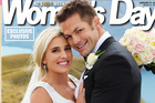 Richie McCaw and Gemma Flynn's first official wedding photo graces the cover of this week's edition of Woman's Day.