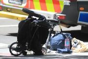 A child was reportedly thrown out of the pram. Photo / News Corp Australia