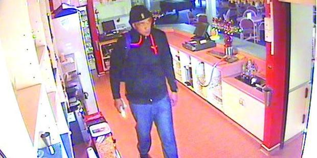 Police in Christchurch are looking for this man who broke into the Shirley St Albans Club on Monday at about 8am.