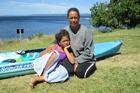 Amanda Wirihana-Tawake with her daughter Ihipera Te Moho. Photo / Laurilee McMichael, Taupo & Turangi Weekender