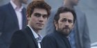 KJ Apa stars alongside Luke Perry in US series Riverdale which is based on the Archie comics.