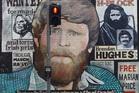 Belfast's colourful street murals. Photo / Nick