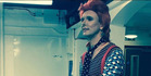 Will Brooker as Bowie during his immersive research. Photo / Will Brooker Twitter.