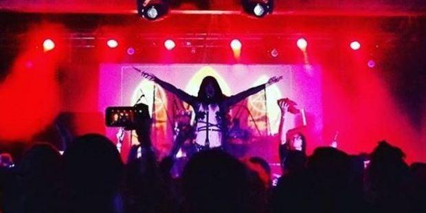 Great times at the Black Mass. Photo / Instagram / thesatanictemplelosangeles