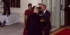 Watch: Watch: Obamas greet Trumps at White House