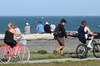 TIME TO EXERCISE: More and more Hawke's Bay people are taking advantage of exercise and fresh air. A popular exercise spot is Napier's Rotary Pathway. PHOTO/FILE
