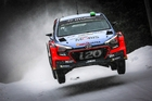 Kiwi rally ace Hayden Paddon is set to face snow and ice during the Monte Carlo Rally, the first event of 2017. Photo / Supplied
