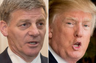 Bill English says New Zealand will be low on the priority list for the new Trump government.