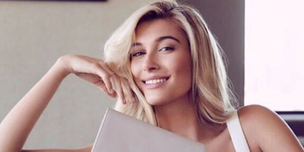 Model Hailey Baldwin collaborated on a sellout TDE capsule collection. Photo / Instagram