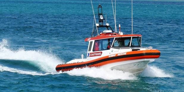 Two yachties have been rescued from the Hauraki Gulf in a late night rescue.  Photo / Supplied