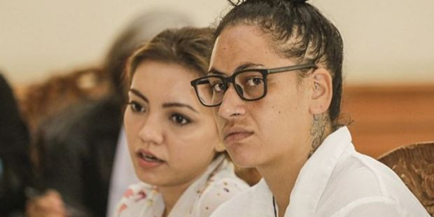 New Zealand woman Myra Williams (pictured) has appeared in a Bali court for the first time over allegations she was found with drugs after flying in from Australia. Photo / AAP
