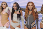 Little Mix prepares to show off their Parris Goebel-directed dance moves. Source/YouTube