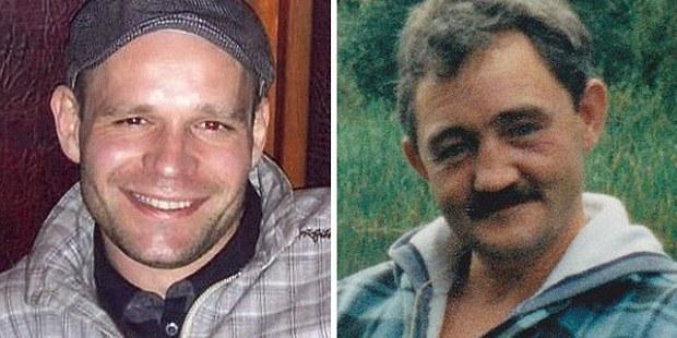 Lukasz Slaboszewski (left) and John Chapman were stabbed to death by Joanna Dennehy.