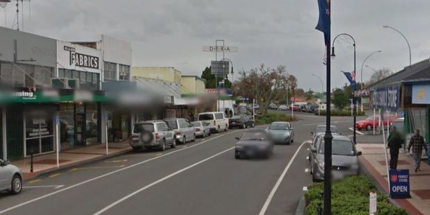 Huntly CIB detective Russell Crawford said the man was attacked as he walked on the pedestrian bridge between Main and Bridge Sts heading towards the western side of Huntly. Photo / Google Street View
