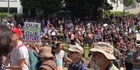 Watch: Watch: Auckland women's march in response to Trump