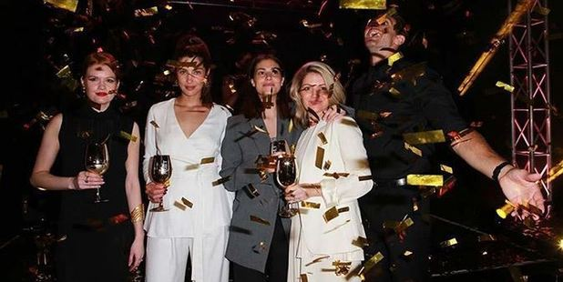 Moet Party. Photo / Norrie Montgomery